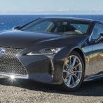 Обновленное купе Lexus LC