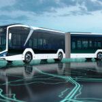 Автобус MAN – «электрогармошка» длиной 18 метров