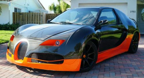 Bugatti Veyron из… Honda Civic