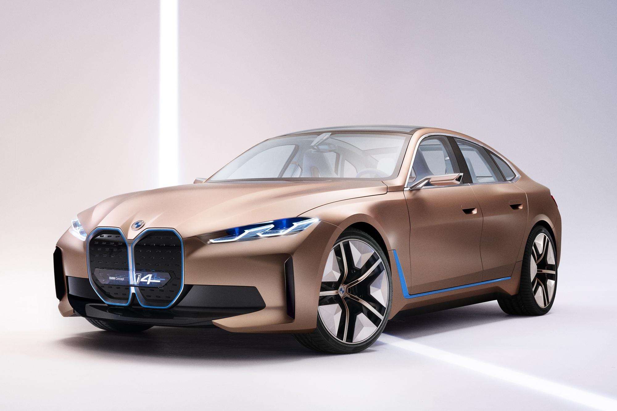 Электрический BMW i4 мощнее M4