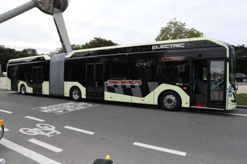 Гибридные автобусы Volvo S-Charge