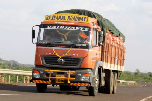 Грузовик BharatBenz