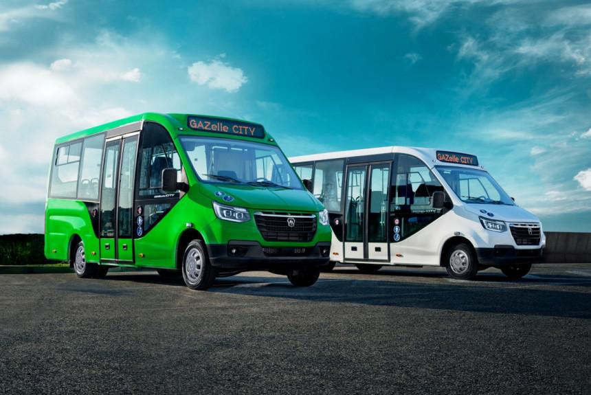 Каркасные автобусы на базе Газели Next