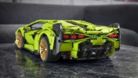 Lamborghini Sian превратили в лего