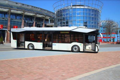 МАЗ выпустил первый электробус