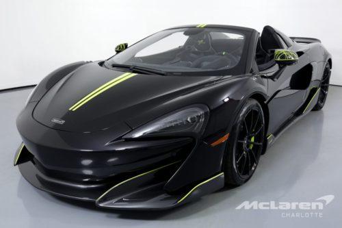 McLaren 600LT Spider паук