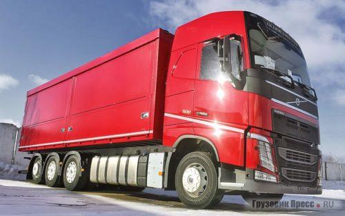 Многоосные грузовики Volvo Trucks