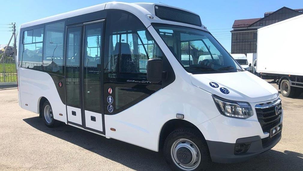 Новый низкопольный городской автобус ГАЗель City