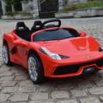 Пионер новых технологий электрокар Ferrari