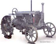 Старинные тракторы на выставке
