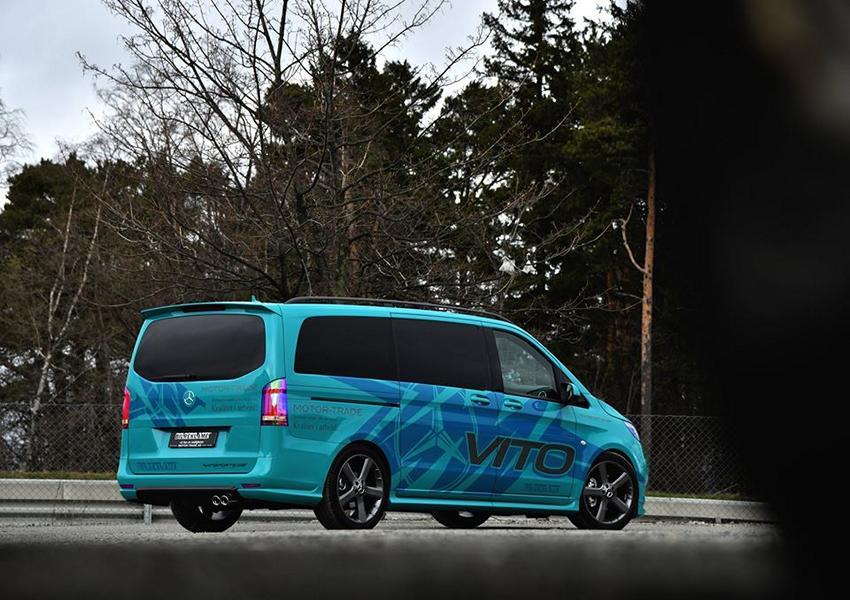 Тюнинг минивэна Mercedes-Benz Vito