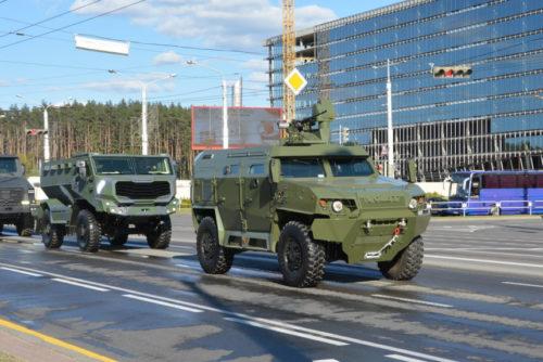 Военные новинки на параде Победы в Минске