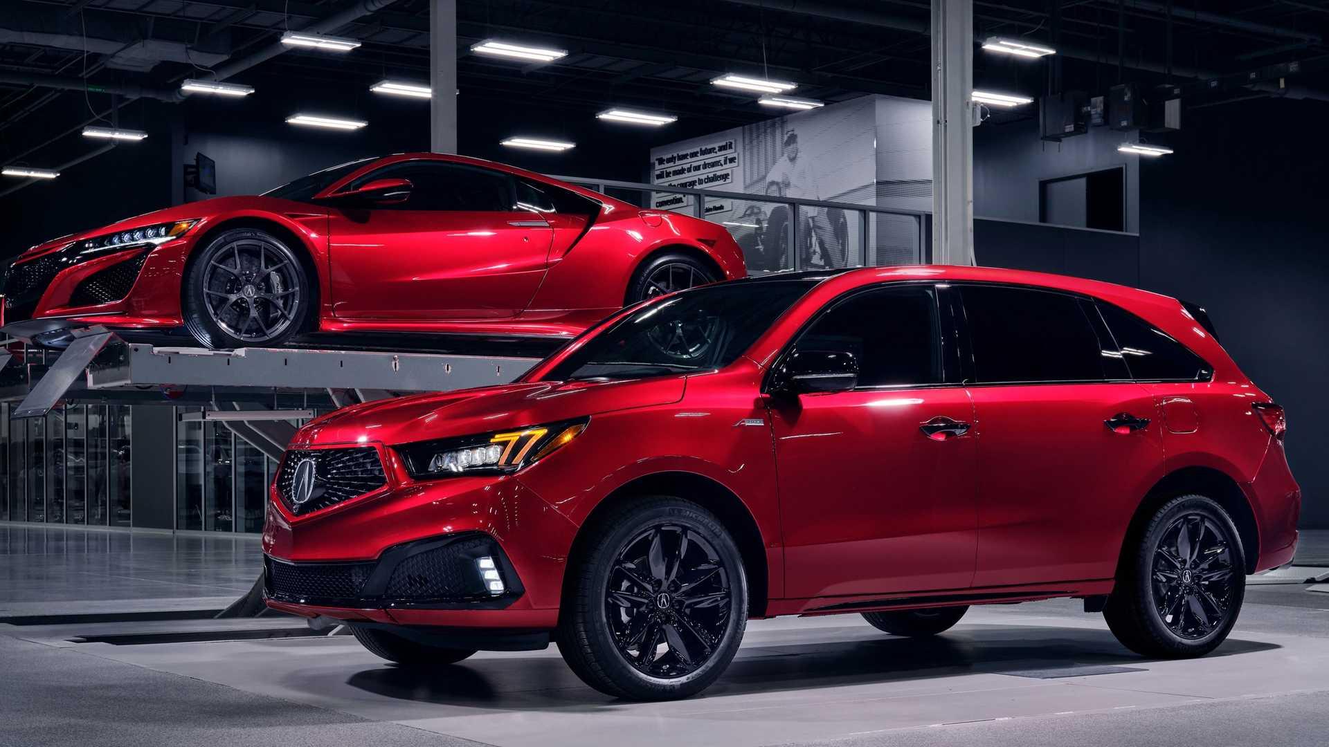 Acura выпустит несколько новых моделей
