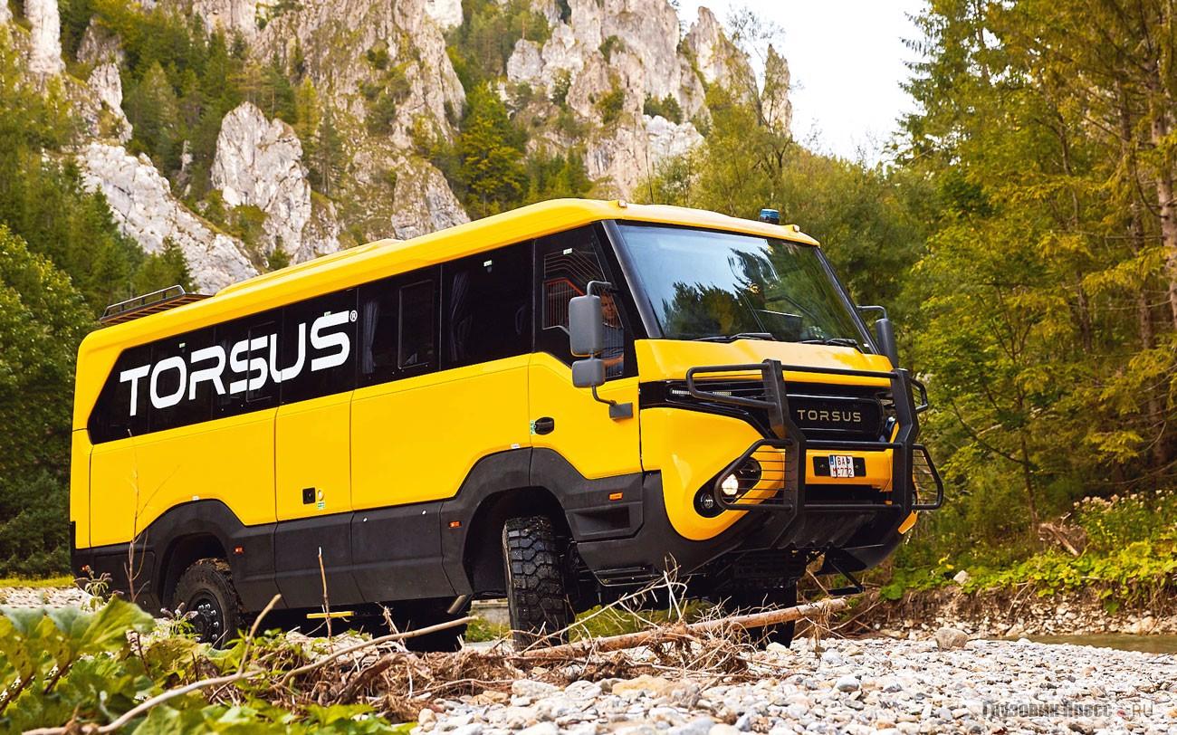 Чешский автобус повышенной проходимости Torsus Praetorian