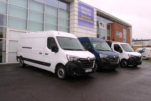 Фургон Renault Master обновили