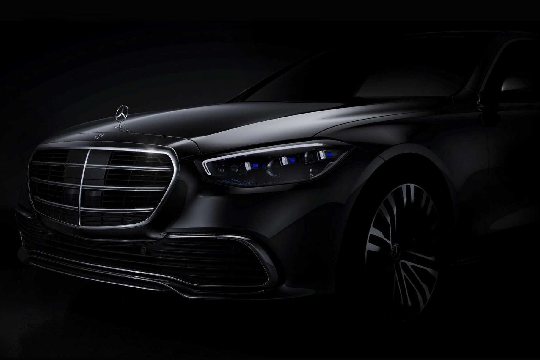 Mercedes-Benz S-класса с полным приводом