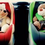 Самое безопасное место для детей в машине