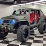 Шестиколесный Jeep Gladiator из Южной Флориды