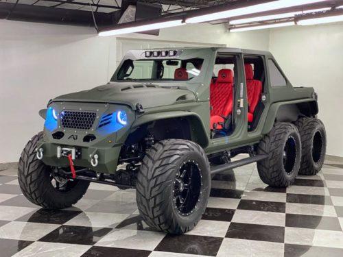 Шестиколесный Jeep Gladiator