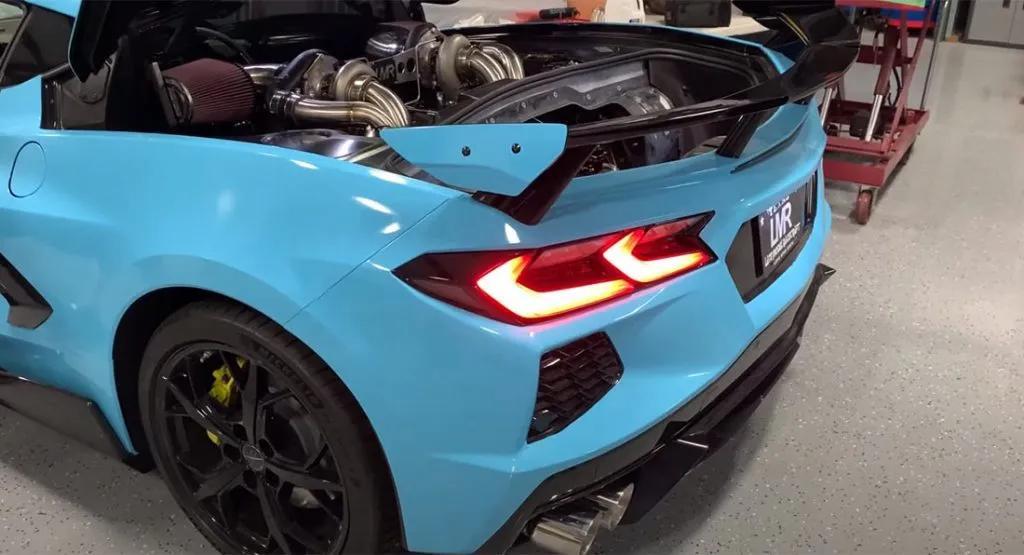 Chevrolet Corvette форсировали до 1200 л.с.