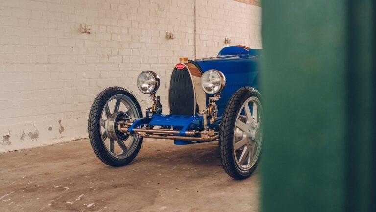 Детские электрокары Bugatti