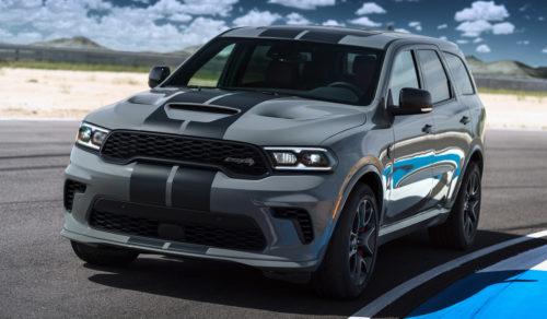 Dodge Durango SRT Hellcat мощнейший серийный внедорожник