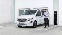 Электрофургон и электробус Mercedes-Benz eVito с «начинкой» от дорогого EQV