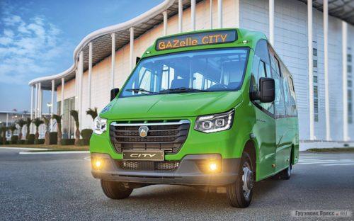 ГАЗель City - большая вместимость компактного транспорта