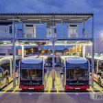 Городские электробусы большого класса во время карантина