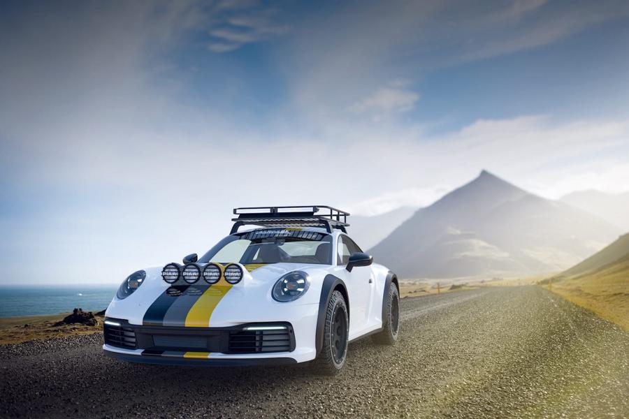 Хардкорный Porsche 911 (992) поедет на ралли в Дакар