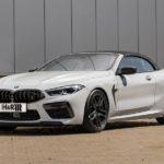 Кабриолет BMW M8 Competition со спортивными пружинами