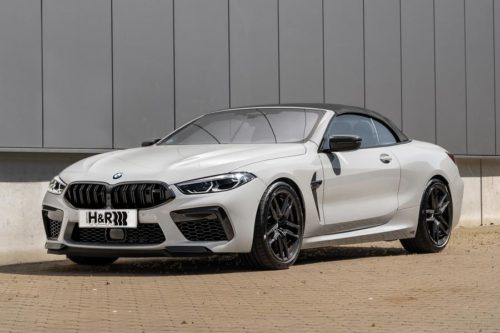 Кабриолет BMW M8 Competition