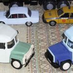 Масштабные модели автомобилей «Компаньона» из Краснодара