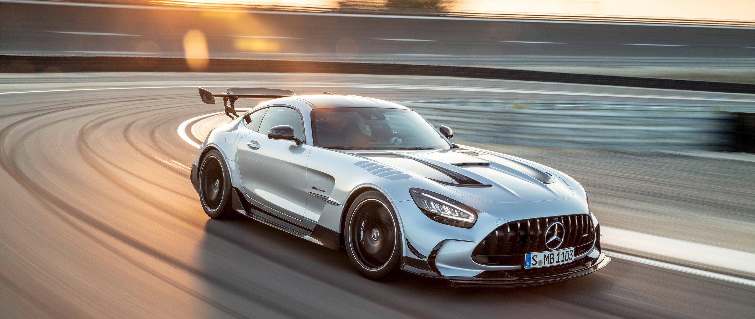 Mercedes GT Black Series знаковая модель в истории «Мерседес»