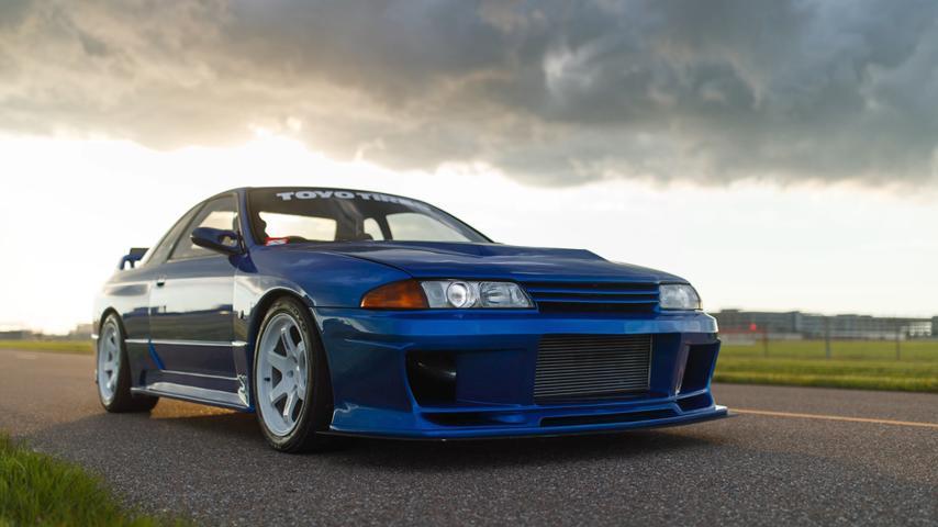 Nissan GT-R R32 получил подключаемый полный привод