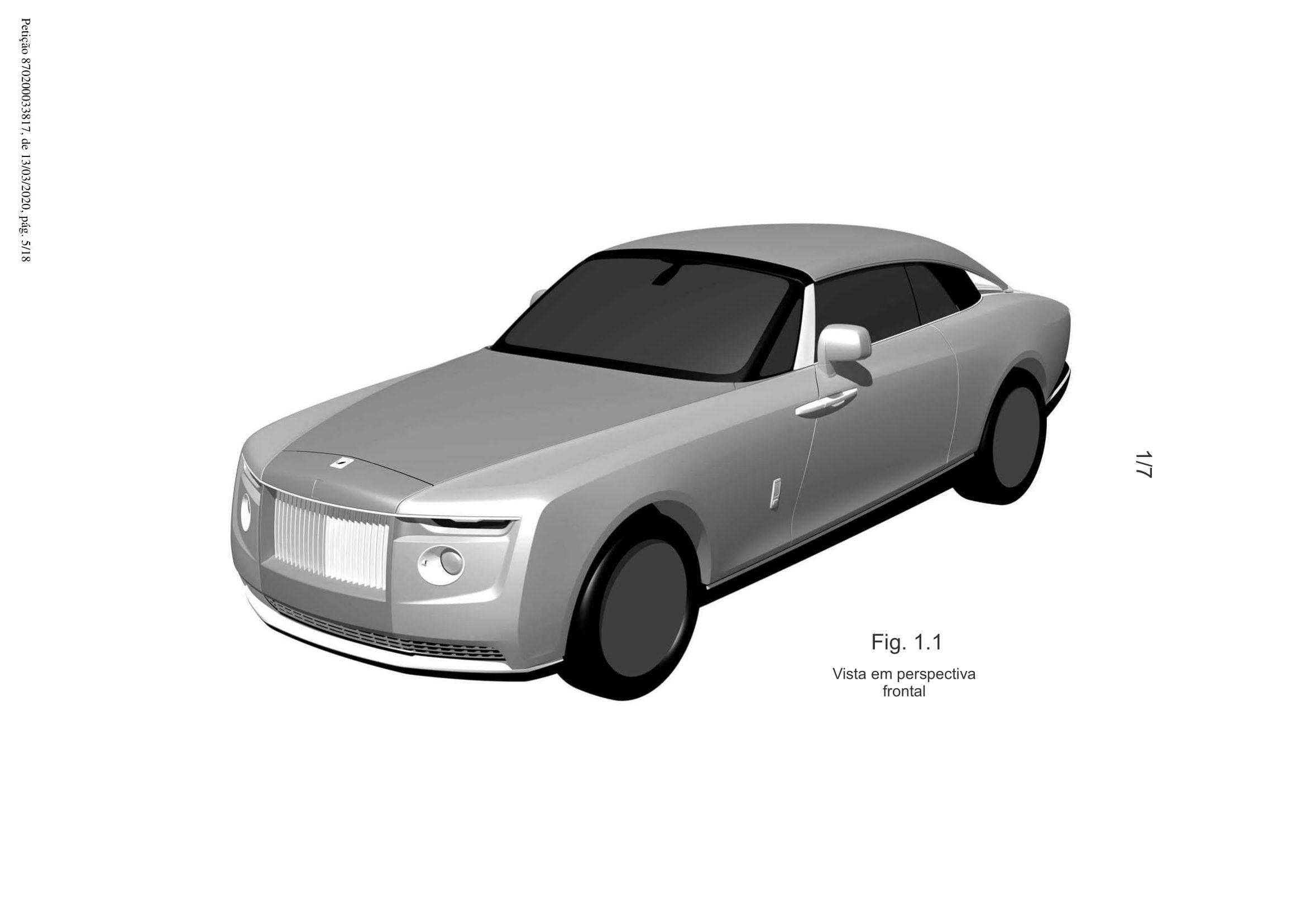 Новый Rolls-Royce для частного клиента