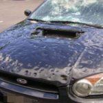 Простой способ защитить машину от града