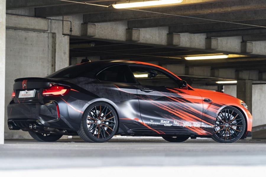 Рестайлинговый BMW M2 Competition