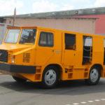 Шахтный автобус третьего поколения