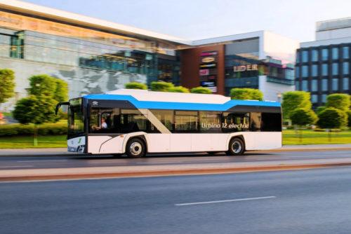 Школьный электробус Solaris