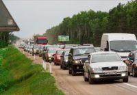 Штрафы можно получить и в дорожной пробке