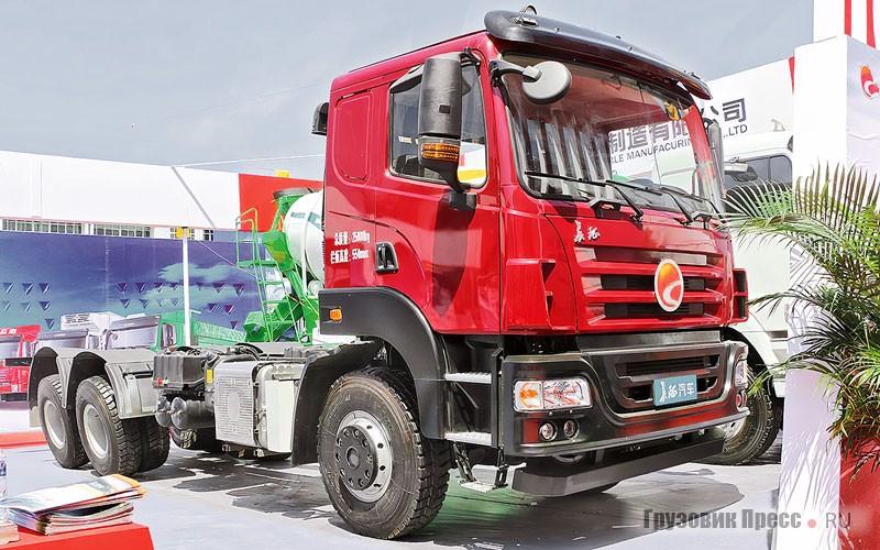 Тяжёлый грузовик TATRA по китайски