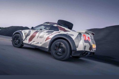 Внедорожный Nissan GT-R за 95 тысяч евро