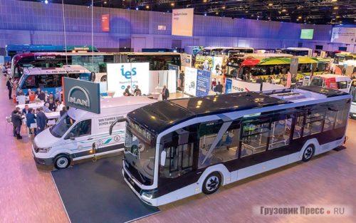 электробусы среднего и большого класса
