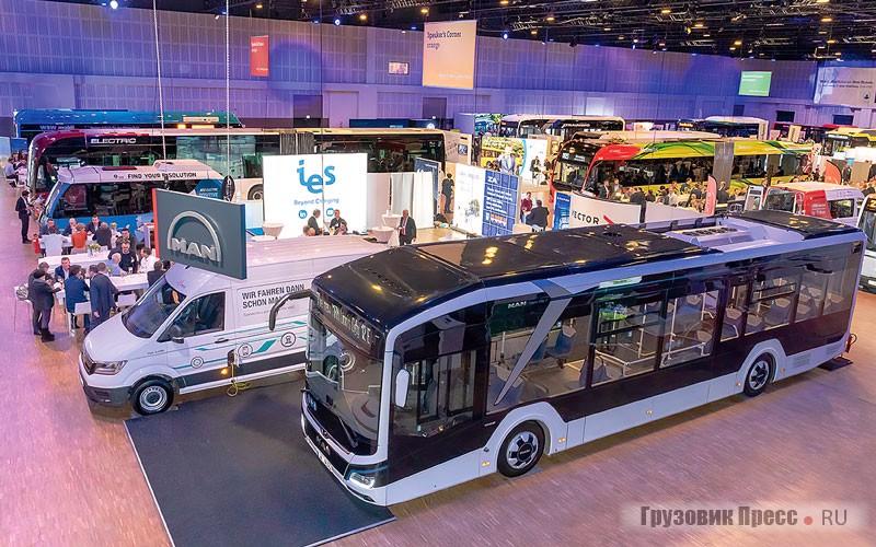 Городские электробусы среднего и большого класса. Часть1