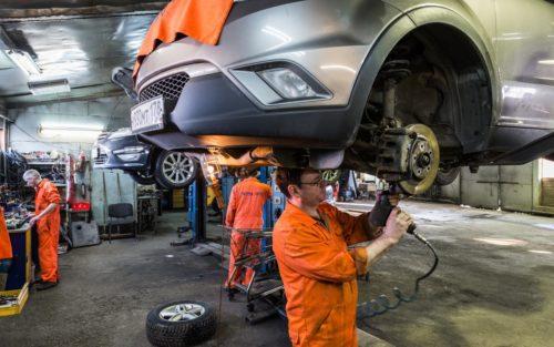 о ремонте машины в обычном автосервисе