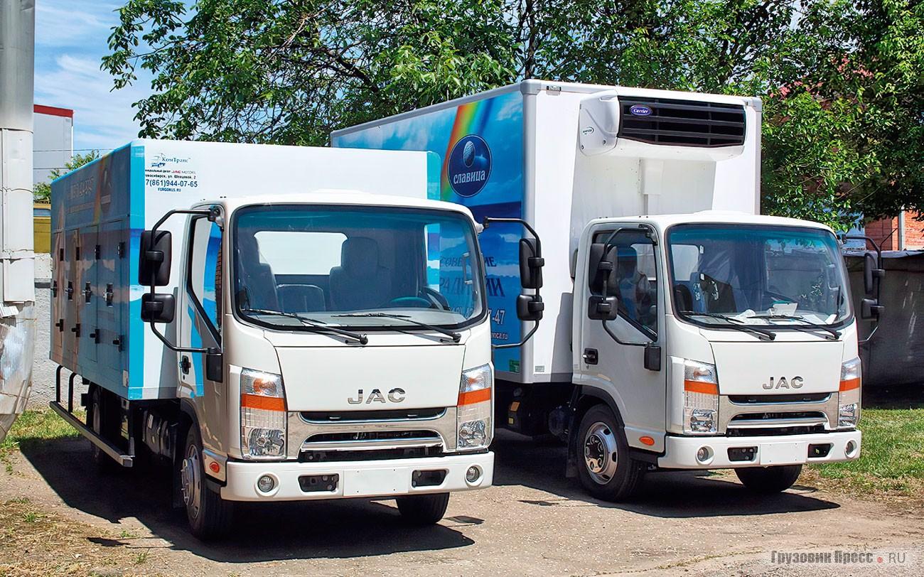Изотермические фургоны к мороженному сезону