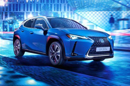 Lexus - первый электрокар