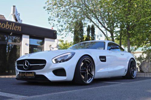 Mercedes-AMG GT с двигателем 570 л.с.