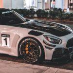 Агрессивный кастомный Mercedes-Benz AMG GT S